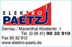 Timo Paetz Elektro Paetz